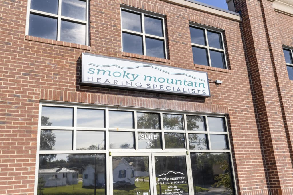 smoky mountain hearing specialists front door